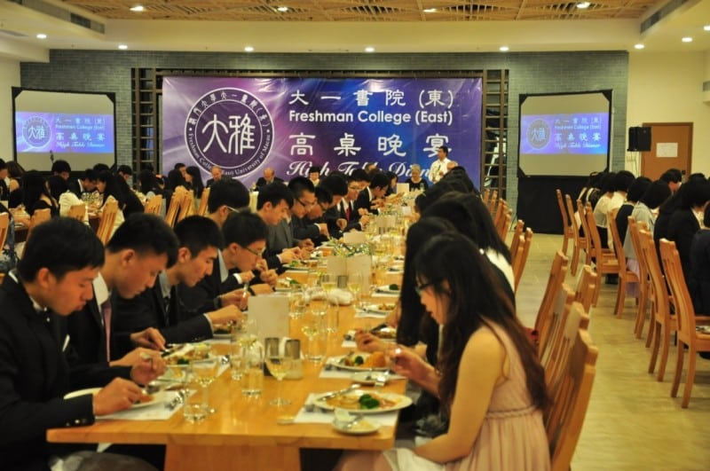The First High Table Dinner in the New UM Campus 3