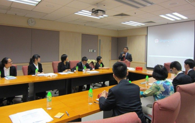 Visit to HK Residential Colleges 2