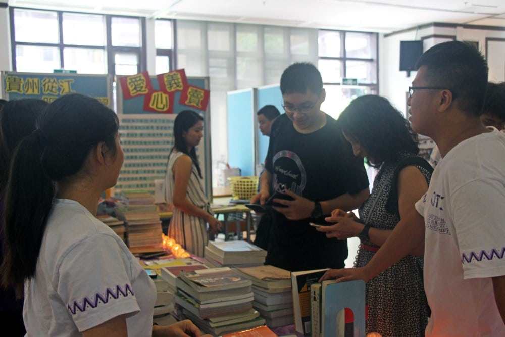 CYTC Charity Sales Raised Nearly MOP 13,000 for Service Learning Programmes in Congjiang County of Guizhou Province