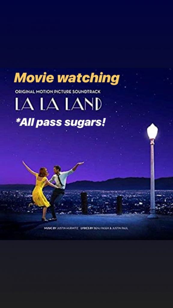 Floor Activity: Movie Sharing-La la land